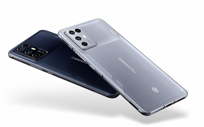 Qualcomm Snapdragon 888, 144 Гц, стереодинамики, 7,8 мм, 4200 мА•ч и 55 Вт. На мировой рынок выходит Nubia Red Magic 6R