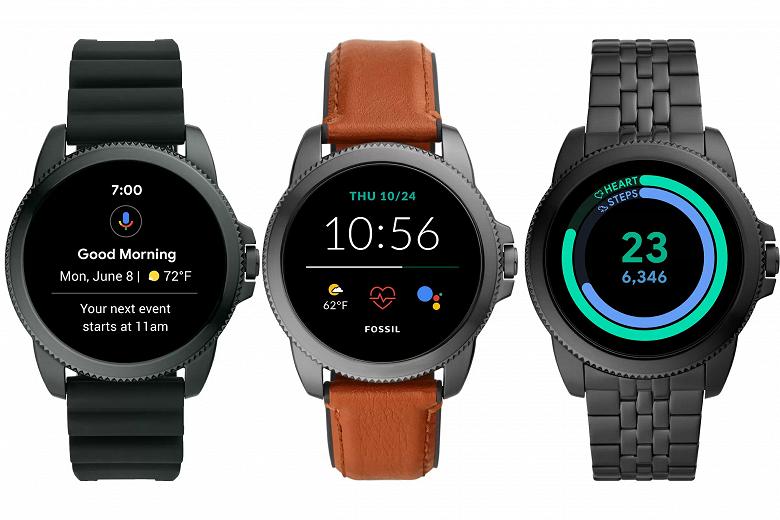 Умные часы Fossil Gen 6 получат Google Wear OS и будут конкурировать с Apple Watch следующего поколения