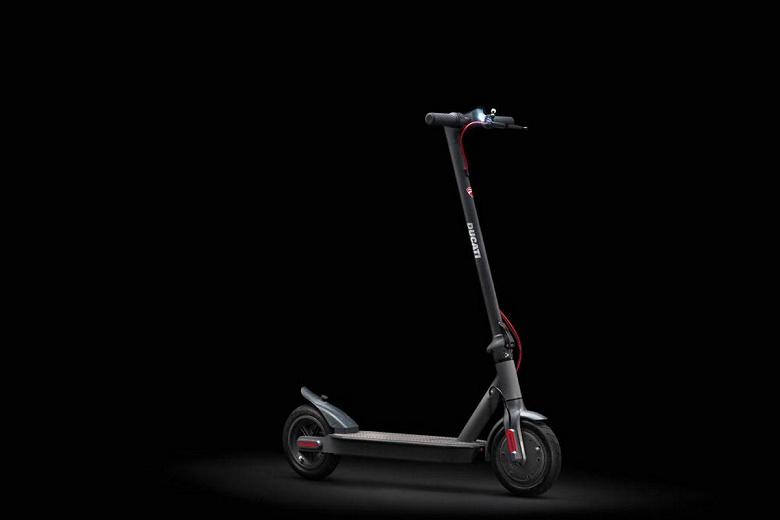 Новый электросамокат Ducati подозрительно напоминает Xiaomi M365