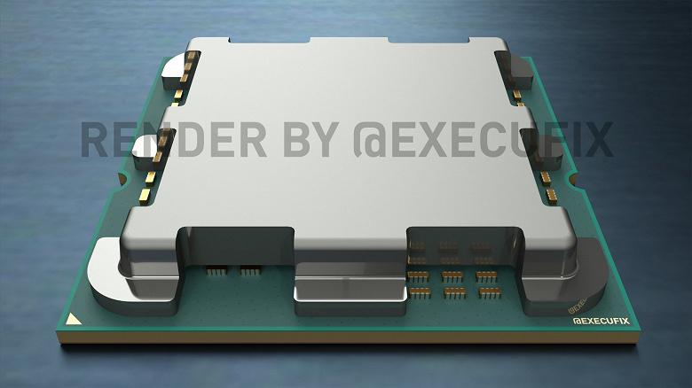 На новых изображениях видно, куда в процессорах AMD в исполнении AM5 перекочевали элементы, ранее находившиеся снизу