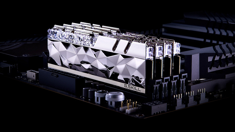В серию G.Skill Trident Z Royal Elite вошли комплекты модулей памяти DDR4-4000 и DDR4-3600
