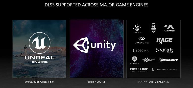 Технология ускорения игр Nvidia DLSS пришла в UnrealEngine 5 и Linux