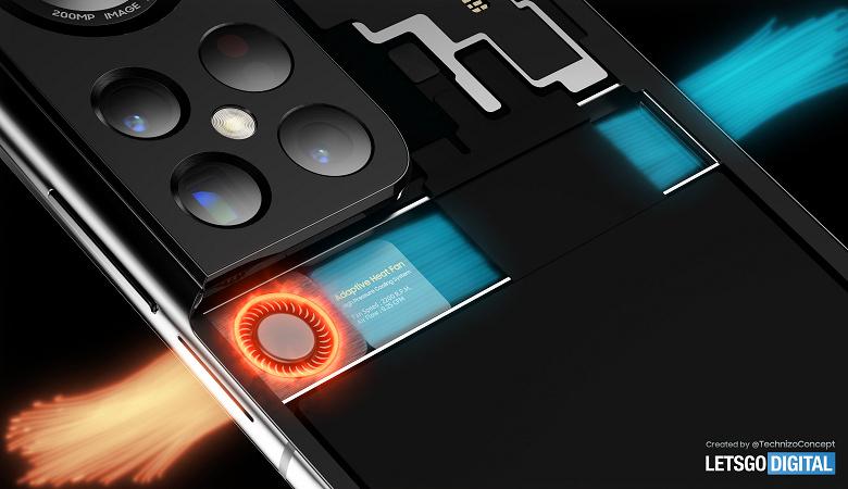 Камера-циклоп, трассировка лучей и настоящий вентилятор: флагманский Samsung Galaxy S22 Ultra в подробностях