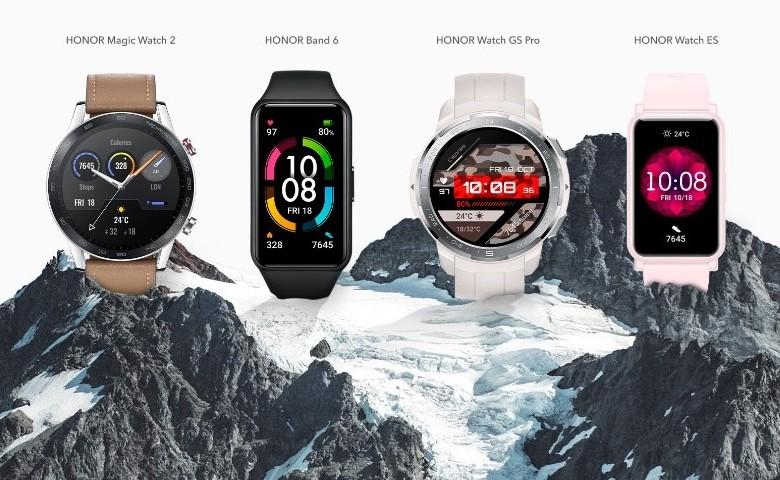 Honor снизила цены на умные часы и браслеты в России