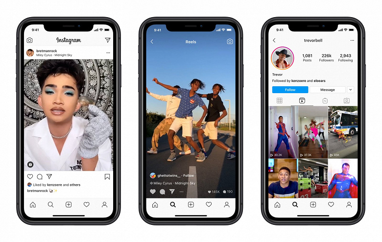 Instagram запустила конкурента TikTok в России