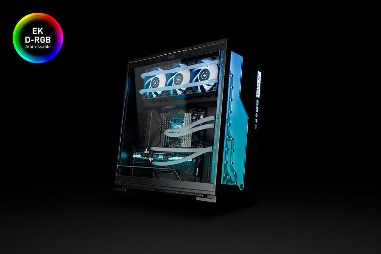 Компьютерный корпус EK-Classic InWin 303EK D-RGB - Black EK стал плодом сотрудничества EK и InWin