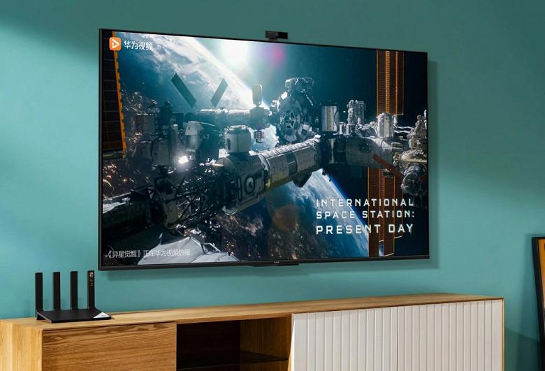 55/65 дюймов, 4K, HarmonyOS, 13-мегапиксельная камера и NFC в телевизоре. Huawei Smart Screen SE поступил в продажу в Китае