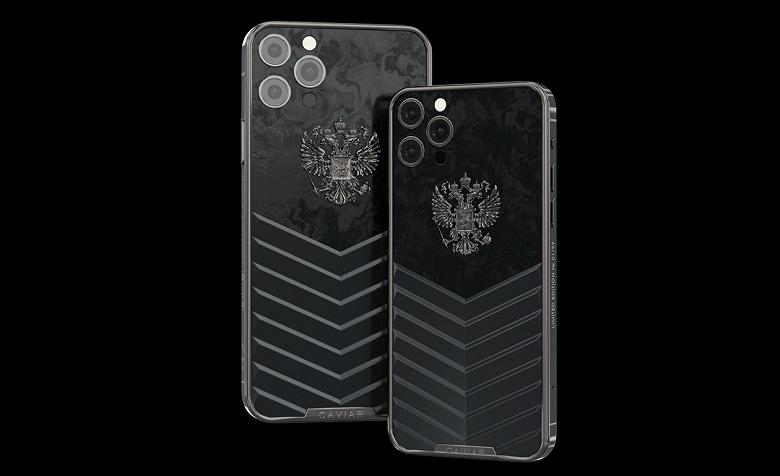 В России выпустили iPhone 12 с механическими часами на корпусе