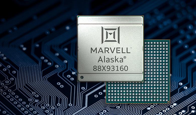 У Marvell готова первая в отрасли 5-нанометровая микросхема PHY Ethernet с пропускной способностью 1,6 Тбит/с