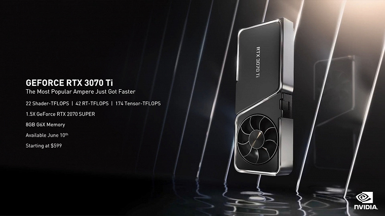 Nvidia представила GeForce RTX 3080 Ti за 1200 долларов и GeForce RTX 3070 Ti за 600 долларов. Но увидим ли мы такие цены?
