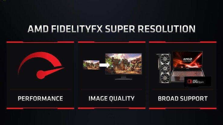 AMD представила технологию FidelityFX Super Resolution, которая позволит значительно поднять кадровую частоту в играх на старых адаптерах бесплатно