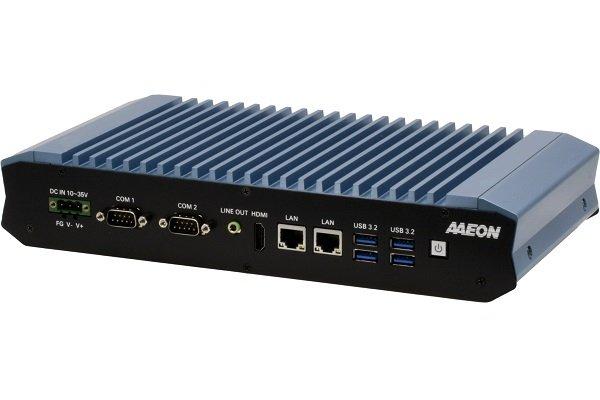 Boxer-6642-CML — первый промышленный компьютер Aaeon с пассивным охлаждением на процессоре Intel Core 10-го поколения