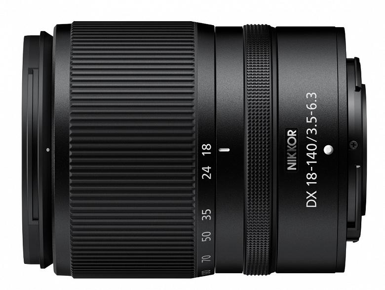 Компания Nikon объявила о разработке объектива Nikkor Z DX 18-140mm f/3.5-6.3 VR