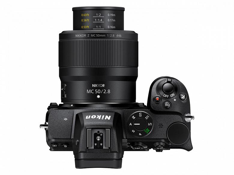 Представлен полнокадровый объектив Nikkor Z MC 50mm f/2.8