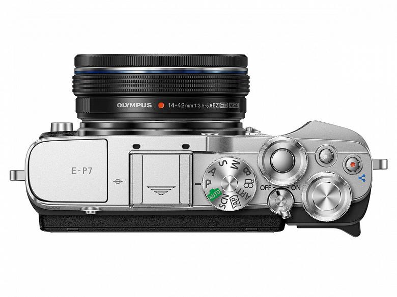 Представлена камера Olympus Pen E-P7 — первая после продажи фотобизнеса Olympus