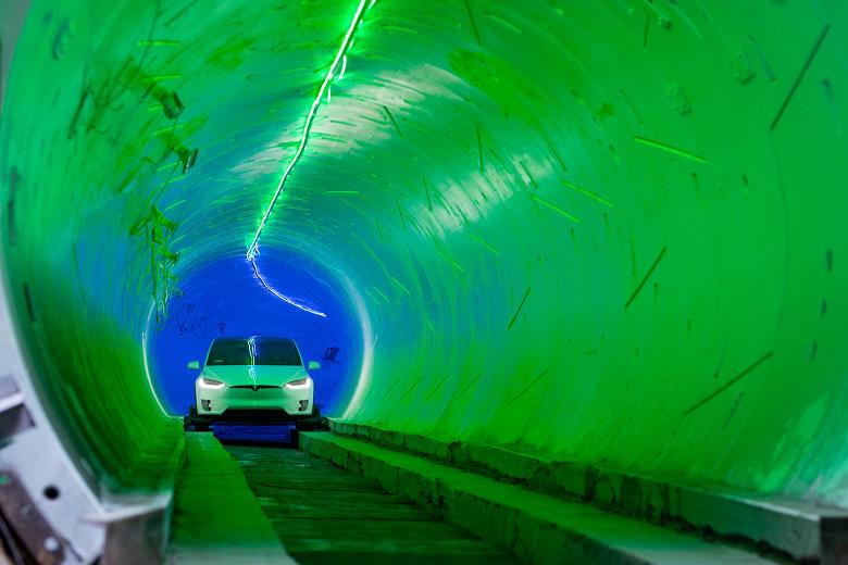«Революционнные» тоннели Илона Маска под Лас-Вегасом разочаровали пользователей