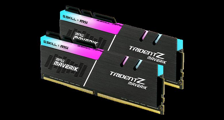 Комплект модулей памяти G.Skill Trident Z Maverik DDR4 не будет продаваться отдельно