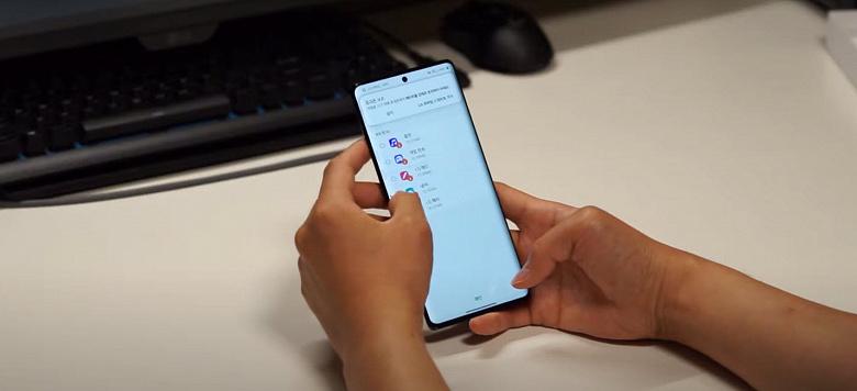Первая распаковка последнего смартфона LG