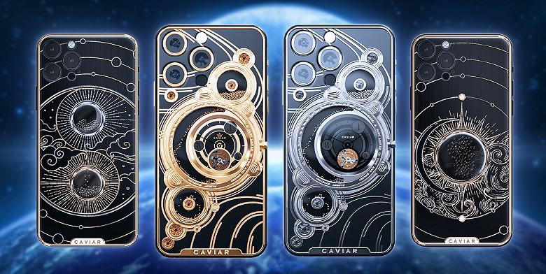 В России предлагают заказать iPhone 13 с механическими и песочными часами
