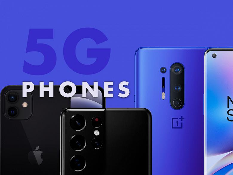 В 2022 году будет отгружено 681 млн смартфонов 5G