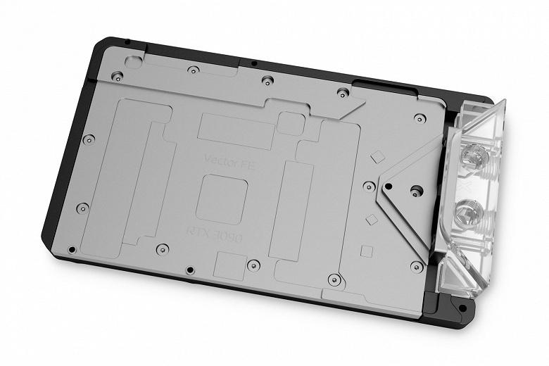 Активная задняя панель EK-Quantum Vector FE RTX 3090 D-RGB дополняет водоблок EK-Quantum Vector FE RTX 3090 – Special Edition