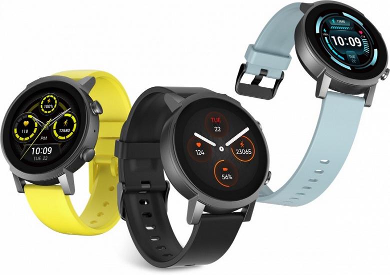 Представлены быстрые и лёгкие умные часы со Snapdragon Wear 4100, Wear OS, SpO2 и IP68  под названием TicWatch E3