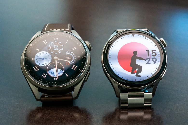 Представлены умные часы Huawei Watch 3 и Watch 3 Pro с HarmonyOS, функцией измерения температуры и поддержкой eSIM