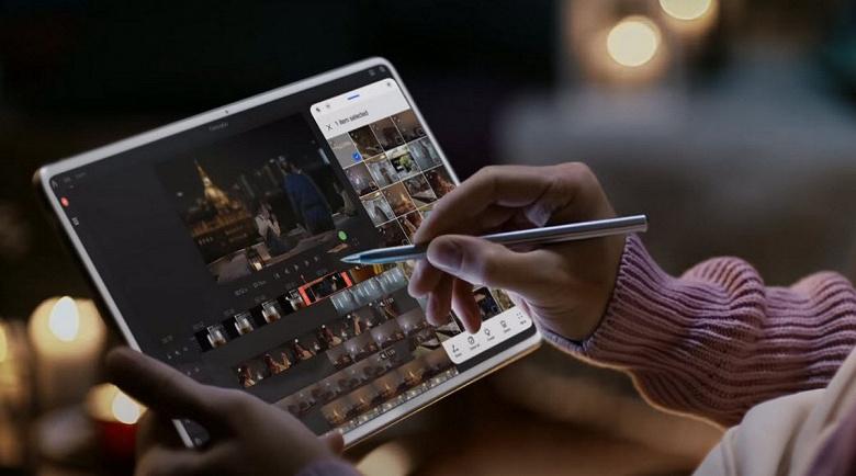 Huawei MatePad Pro с HarmonyOS и стилус M-Pencil впервые показали вживую. Официальные рекламные ролики