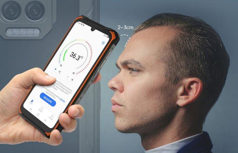 Представлен неубиваемый смартфон с батареей на 8500 мА•ч и термометром Doogee S86 Pro