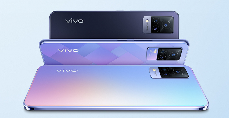 Недорогие 90 Гц и селфи на 44 Мп: смартфоны Vivo V21 и V21е представлены в России