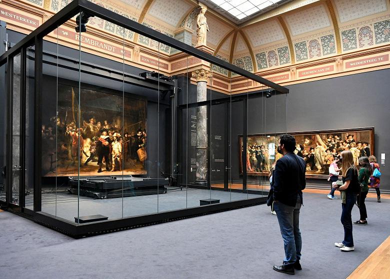 Искусственный интеллект дорисовал картину Рембрандта «Ночной дозор»