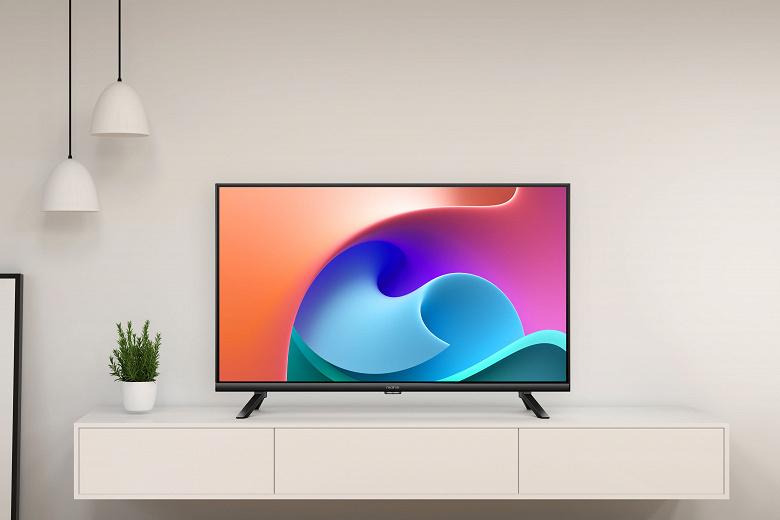 Представлен доступный телевизор Realme с 32-дюймовым экраном FullHD и четырьмя динамиками
