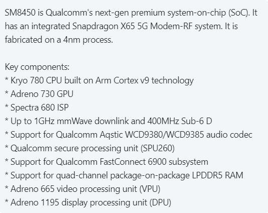 Эту платформу Qualcomm получит Samsung Galaxy S22. Появились подробности о новой топовой SoC Snapdragon
