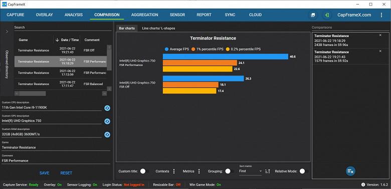 AMDFidelityFXSuperResolutionзапустили на новейшем и 10-летнем процессоре Intel
