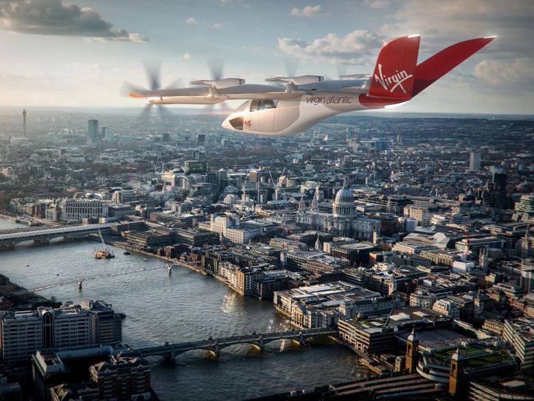 Сотрудничество Virgin Atlantic с Vertical Aerospace предусматривает покупку до 150 самолетов eVTOL и создание совместного предприятия