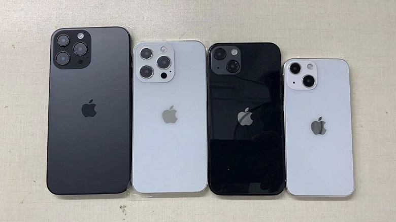 iPhone 14 Max дешевле $900, камера разрешением 48 Мп, прощание с моделью mini. Первые детали об iPhone 14, iPhone 14 Max, iPhone 14 Pro и iPhone 14 Pro Max