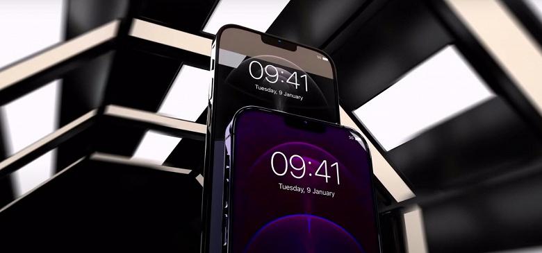 Apple iPhone 13 с уменьшенной чёлкой показали в видеоролике