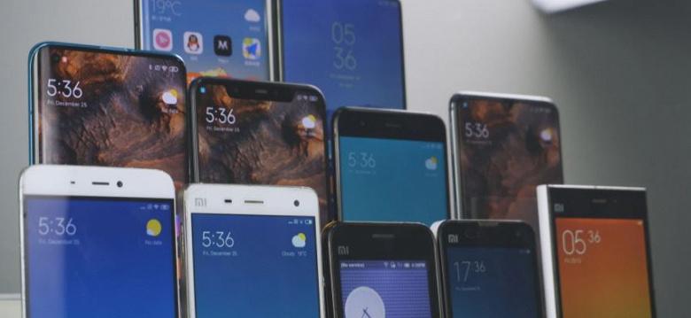 Xiaomi готовит 13 новых смартфонов. Характеристики некоторых уже известны