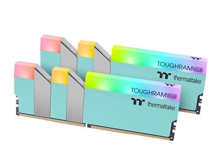 Модули памяти Thermaltake ToughRAM RGB DDR4 стали доступны в бирюзовом варианте