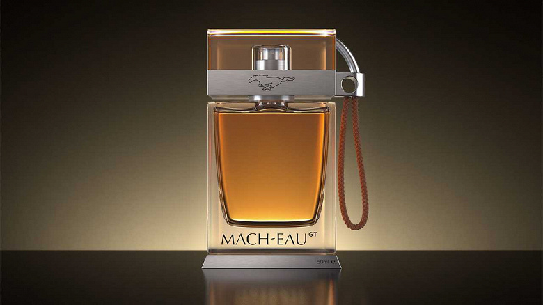 Представлены духи Ford Mach-Eau с ароматом бензина и резины