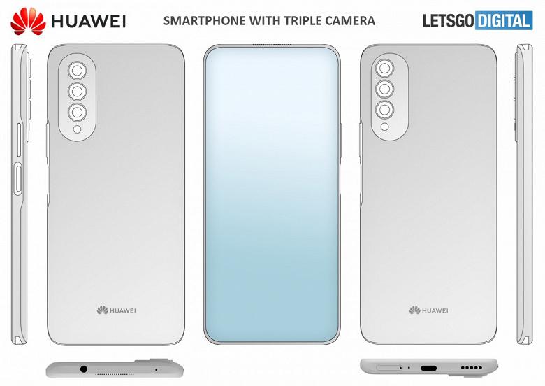 Huawei тоже готовит смартфон с подэкранной камерой. Такая модель уже запатентована