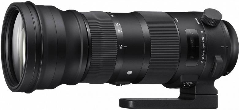 Компании Sigma приписывают намерение выпустить объектив 150-600mm f/5-6.3 DG DN OS Sports