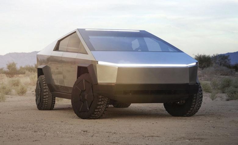 Электрический пикап Tesla Cybertruck получит полноуправляемое шасси и «много других замечательных вещей»