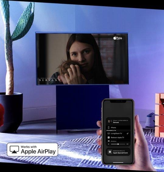 Samsung обновила телевизор Sero с автоповоротом: вертикальный просмотр доступен для iPhone