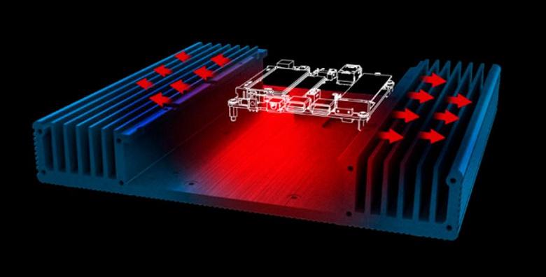 Корпус Akasa Plato NE предназначен для систем на базе Intel NUC 8 и 11 с пассивным охлаждением