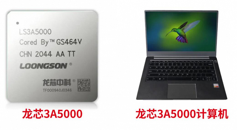 The Chinese processor Loongson 3A5000 almost caught up with the Core i7-2700K.  But this is only in one of the tests.