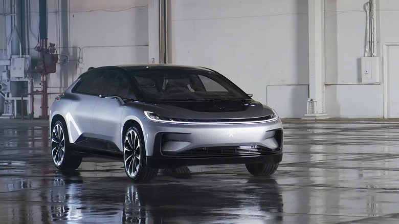 Faraday Future FF 91 electric crossover can finally be ordered