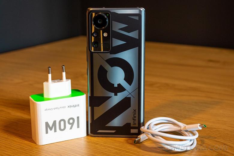 Смартфон со 160-ваттной зарядкой и электрохромнойи электролюминесцентной плёнками. InfinixConcept Phone 2021 не является серийной моделью