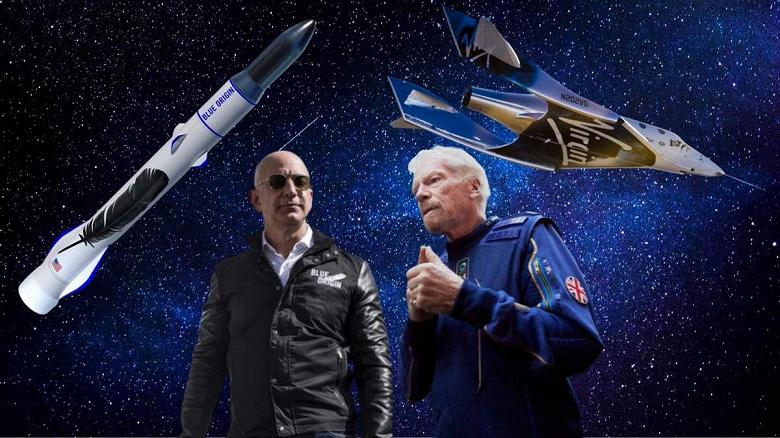 Ричарда Брэнсона и Джеффа Безоса не признали астронавтами в США, как и других космических туристов