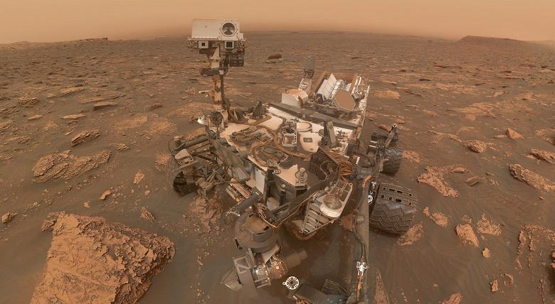 Оказалось, что марсоход Curiosityнаходится очень близко к месту, где может быть внеземная жизнь. На это указывает метан